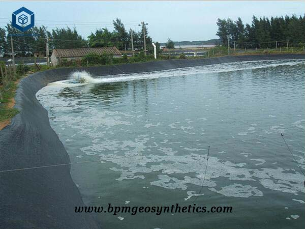 HDPE Impermeable Membrane for Lotus Root Pond Project in Chongqing