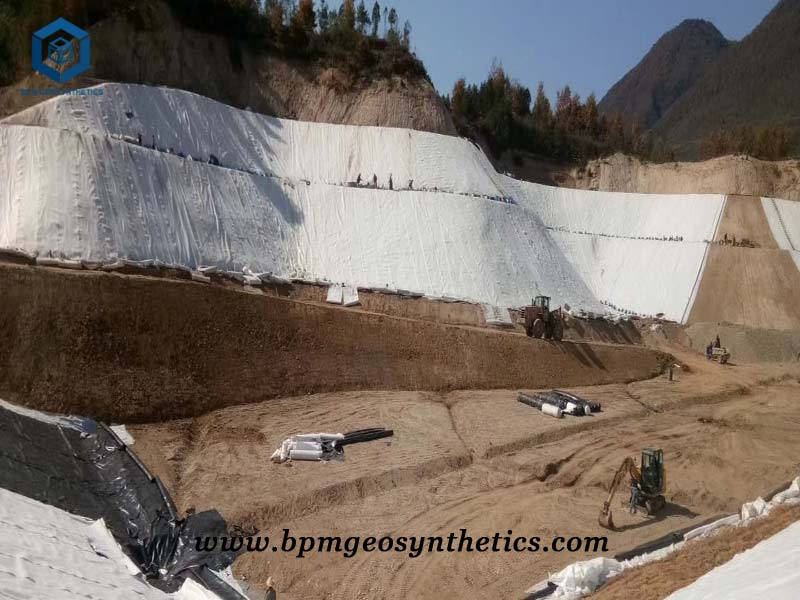 Geotextiles Liner for Road Construction Project